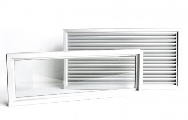 VIEWING PANELS AND AIR GRILLES