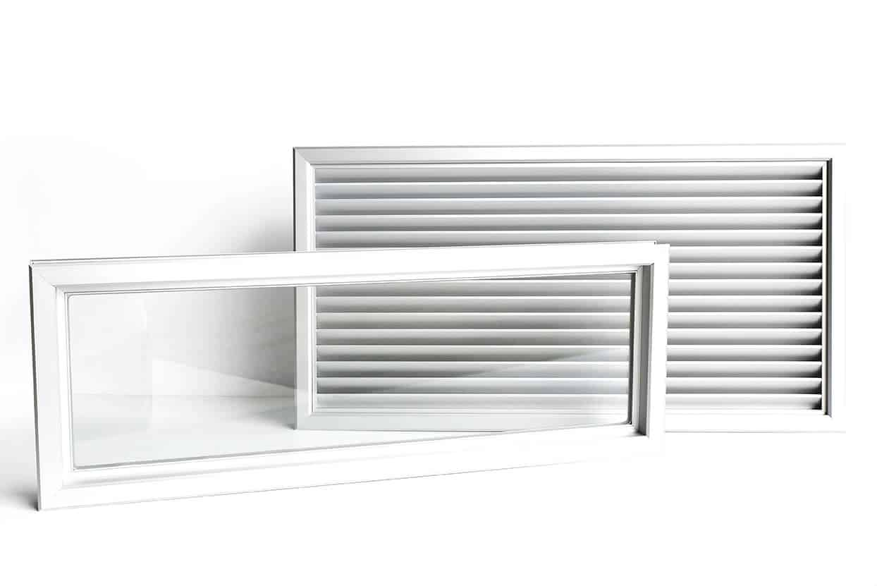 AIR GRILLE & VIEWING PANEL